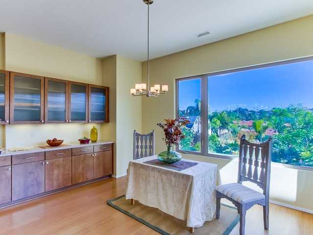 Dining Room Area looks out to beautiful massive yard!